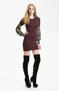 Rachel Zoe 'Kasia' Raglan Sweater Dress available at #Nordstrom