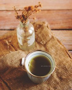 Green Tea. Fine Art Photograph. Still Life by MyLovelySister