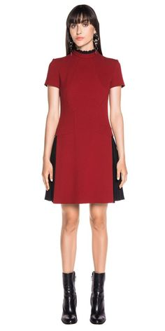 Discover the latest women's dresses from the new Cue collection. Shop our range of black dresses, evening dresses, floral dresses, casual dresses and… Casual Dresses, Dresses For Work, Buy Dresses Online, Panelling, Ruby Red, Weave, Evening Dresses, Contrast, Short Sleeves