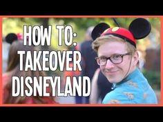 Tyler Oakley's HOW TO: Take Over Disneyland.