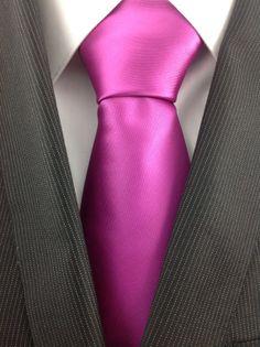 Fuschia Necktie by TheNecktieShop on Etsy