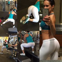 IG: @cathy_99. Glute workout.