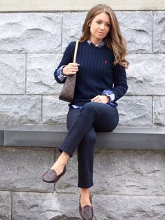 Preppy Style Winter, Preppy Winter Outfits, Preppy Work Outfit, Preppy Wardrobe, Preppy Looks, Preppy Clothes, Preppy Casual, Simple Outfits, Look Fashion