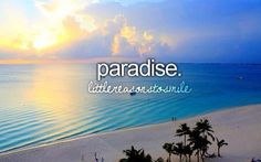 Paradise, Little Reasons to Smile