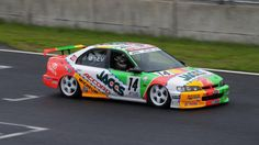 Naoki Hattori in the JACCS Accord. Slammed suspension, huge wheels, full contact racing - just a few reasons why touring cars are awesome.