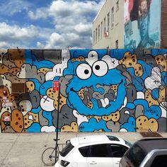 Personagens iconicas da cultura Pop  embelezam e pintam Nova Iorque 13