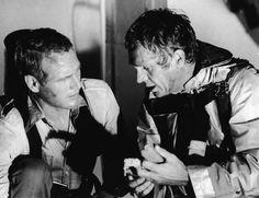 Paul Newman and Steve Mcqueen