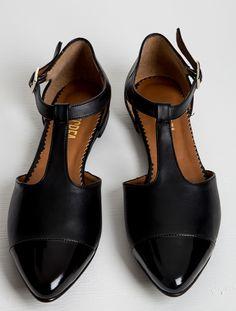 Mecrea/Casual Ayakkabı,Holly Siyah Babet