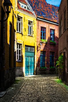 For The World To See — outdoormagic:   Street in Gent / Belgium by...