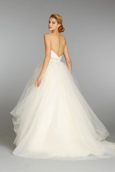Bridal Gowns, Wedding Dresses by Jim Hjelm - Style jh8351