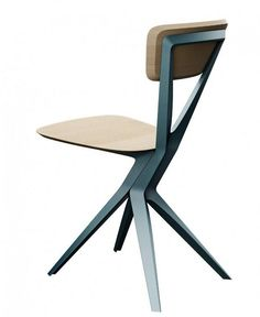 MODERN CHAIR I love the angles in this modern structured chair. via Maybe Chair par Andrea Borgogni - Journal du Design) Metal Furniture, Modern Furniture, Furniture Design, Furniture Buyers, Italian Furniture, Muebles Art Deco, Love Chair, Yanko Design, 3d Models