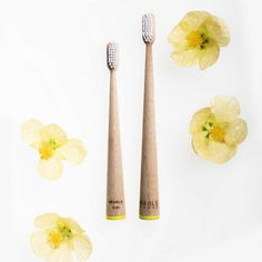 Bamboo toothbrushes from Mable - ethical and non plastic