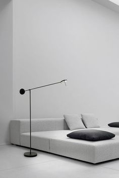 Minimalist interior - Grok invisible led floor lamp with adjustable arm in matt black 2556930505 Minimalist Interior, Minimalist Decor, Minimalist Design, Interior Design Boards, Interior Design Living Room, Interior Decorating, Sofa Furniture, Furniture Design, Pretty Things