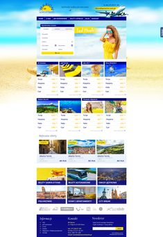 BP Marion   Menu strona www, website, template, biuro podróży, travel agency Travel Agency, Malta, Website Template, Menu, Blog, Menu Board Design, Malt Beer, Blogging