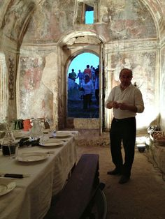 Ace Camps | Suzanne Northcott | Puglia + Basilicata regions of Italy | dinner in a cave church at the masseria Jesce