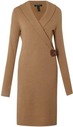 Mervila Shawl Wrap Dress
