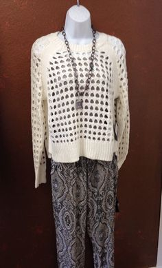 Fishnet for Spring! What's in your closet? thatgirlsboutiquetx.com