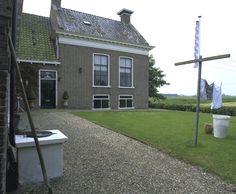 Lutjelollum bij Franeker, kop-hals-rompboerderij aan Lutjelollum 2