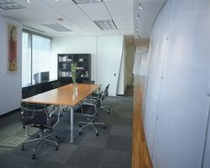 Small conference room.