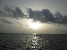 sunrise off Puerto Morelos beach Puerto Morelos, Riviera Maya, Tulum, Sunsets, Beaches, Sunrise, Earth, Outdoor, Playa Del Carmen