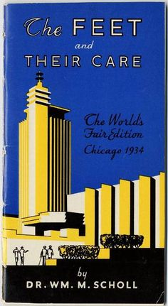 Scholl's pamphlet, 1933 World's Fair; University of Chicago Libraries Special Collections Research Center Vintage Ephemera, Vintage Art, Sky Ride, Hot Tub Time Machine, Lending Library, Art Deco Posters, Chicago Area, World's Fair, Book Title