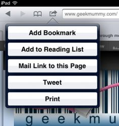 "How to add a ""Pin It"" button to your iPhone or iPad - geekmummy"