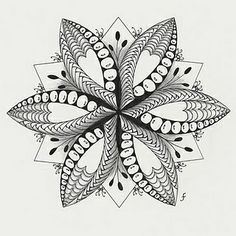 zentangle patterns (individual patterns) - Google Search