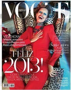 Karolina Kurkova  Vogue Magazine Cover [Portugal] (January 2013)  Highlight Description Karolina Kurkova - Vogue Magazine Cover (January 2013)