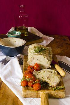 Yerbabuena en la cocina: Lomo a la sal con tomates cherrys salteados