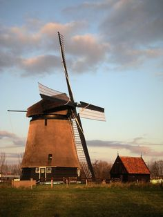 Dutch mill, Alkmaar, Holland