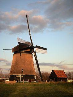 Dutch mill, Alkmaar, Holland
