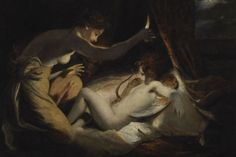 Cupid and Psyche (1789), Joshua Reynolds #enicultura #amoreepsiche #art