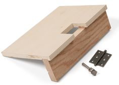 This hinge mortising jig is easy to build, and even easier to use! http://tinyurl.com/ozze5rk