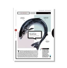 Magazine layout-Seafood
