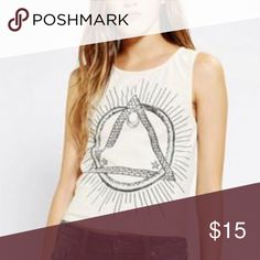 Truly Madly Deeply Snake Pyramid Tank Illuminati Tank Urban Outfitters Tops Tank Tops
