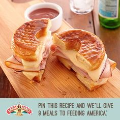 Help us fight hunger in partnership with Feeding America® when you pin or repin Land O'Lakes recipes. Learn more at www.landolakes.com/pinameal.