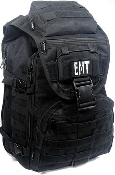 Custom EMT EMS MEDIC On Duty / Off Duty Backpack by CYCLONEXGEAR