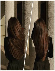 Beautiful Light Black Color Hairs Smooth Look