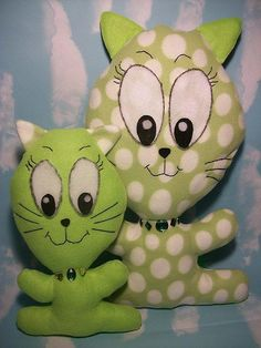 Jumbo Head Kitties (Cat) Sewing Pattern