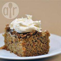 Photo de recette : Gâteau léger aux carottes