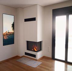 Ενεργειακό τζάκι Spartherm (Germany)  🔰 Τοποθέτηση ενεργειακού τζακιού  www.tzakianakos.gr® Home, Decor, Fireplace