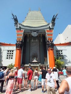 Chinese theater. Hollywood, California