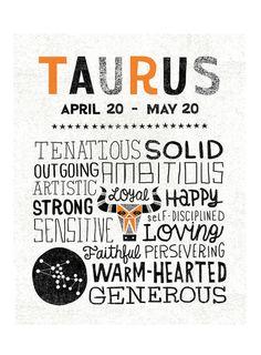 Taurus Zodiac sign art
