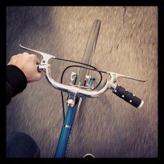 shambola: And I ride, and I ride, and I ride. Cycling Art, Cycling Bikes, Retro Bike, Fixed Gear Bike, Bike Wear, Cycle Chic, Touring Bike, Bicycle Parts, Cool Bicycles
