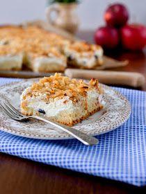 Pradobroty: Jablečný koláč s tvarohem Sweet Cooking, Kefir, Macaroni And Cheese, Food To Make, Cauliflower, Food And Drink, Pie, Treats, Fresh