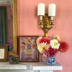 So many details to take on today... I will dream of beautiful homes and divine dahlias. Thank you @ashleywhittakerdesign for including me on @thedecoratorsclub field trip. #theenglishroomtravels #millbrook #design #interiordesign #dahlia