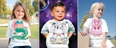 Детские футболки и слюнявчики