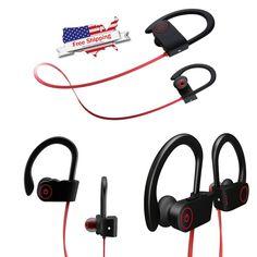 Waterproof Bluetooth Earbuds Beats Sports Wireless Headphones For Smartphones #Otium