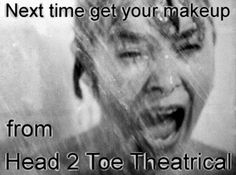 Performance Quality makeup can be found at Head 2 Toe Theatrical.  Ebony and Ivory Vintage Promotion :: NextTimeH2T.jpg image by drp64744 - Photobucket.   http://stores.ebay.com/Head-2-Toe-Theatrical