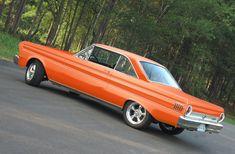 Orange 1964 Ford Falcon 2-door